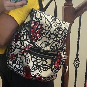 Coach Mini Backpack - Nylon Fabric